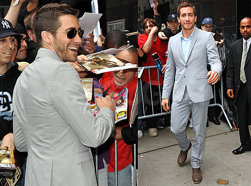 Pictures of Jake Gyllenhaal at Good Morning America Promoting Prince of Persia
