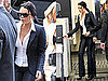 Pictures of Lindsay Lohan at Court in LA