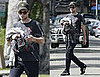 Pictures of Robert Pattinson Following a Workout in LA