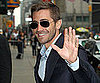 Slide Picture of Jake Gyllenhaal at David Letterman Show