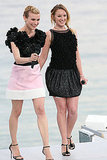 Diane Kruger and French actress Ludivine Sagnier both had a good time in Giambattista Valli.