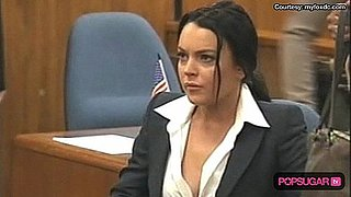 Video of Lindsay Lohan in Court