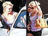 Pictures of Britney Spears at a LA Salon
