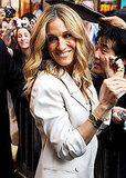 Pictures of SJP on Letterman