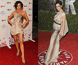 Victoria Beckham Wearing Her Fall 2010 Dresses 2010-05-25 16:00:22