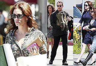 Photos of Julia Roberts And Tom Hanks Filming Larry Crowne in LA