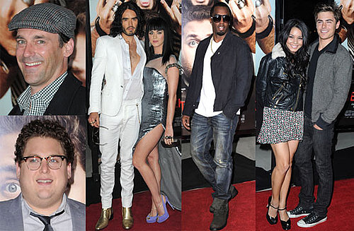 Pictures of Zac Efron, Elizabeth Moss, Jonah Hill, Vanessa Hudgens, Russell Brand, and Jon Hamm at Get Him to the Greek