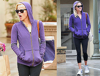 Pictures of Reese Witherspoon Leaving the Gym in LA