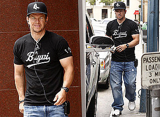 Pictures of Mark Wahlberg at ATM in LA