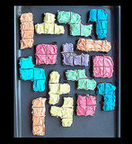 Bake Sweet and Easy Tetris Brownies