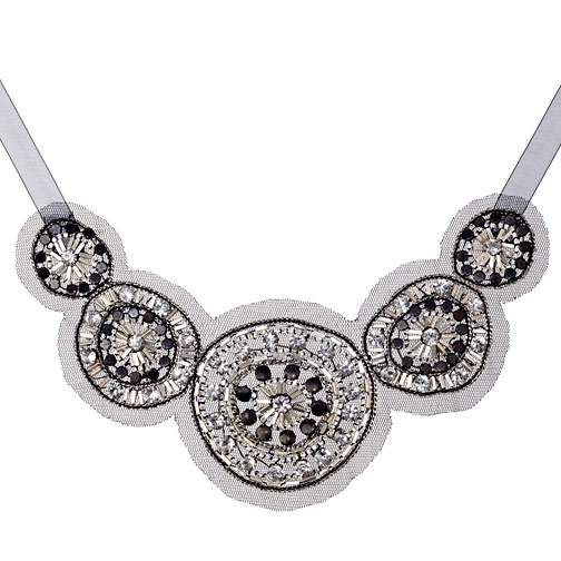 Suzanna Dai Deco Circle Necklace ($198)