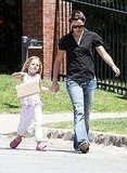 Pictures of Jennifer Garner and Girls