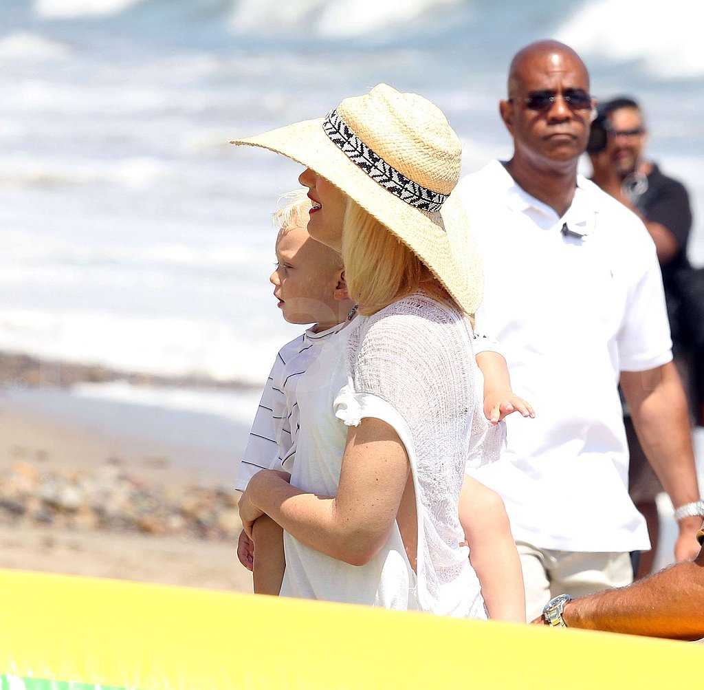 Pictures of Gwen Stefani's Weekend
