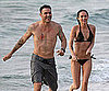 Slide Picture of Megan Fox Bikini and Brian Austin Green in Hawaii