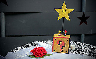 Super Mario Bros. Wedding Centerpieces