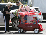 Photos of Jennifer Garner, Violet Affleck and Seraphina Affleck 2010-05-31 18:09:32