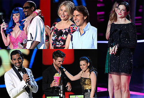 Pictures of Sandra Bullock, Tom Cruise, Robert Pattinson, Kristen Stewart at MTV Movie Awards Show