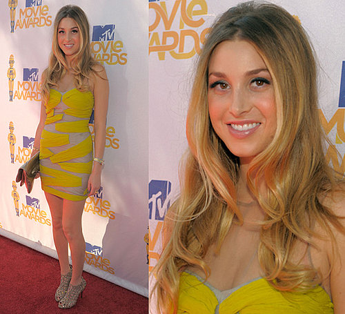 Whitney Port at 2010 MTV Movie Awards 2010-06-06 17:04:47
