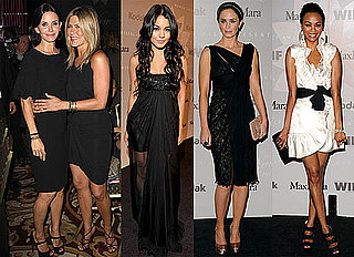 Pictures of Jennifer Aniston, Courteney Cox, Vanessa Hudgens, Emily Blunt, Zoe Saldana at Crystal and Lucy Awards 2010-06-02 06:00:00