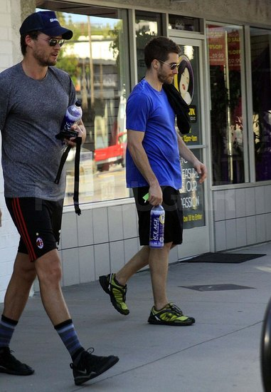 Pictures of Jake Gyllenhaal Working Out