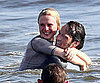 Slide Picture of Anna Parquin and Stephen Moyer Shirtless on Memorial Day in Venice