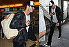Pictures of David Beckham at LAX Headed to the World Cup