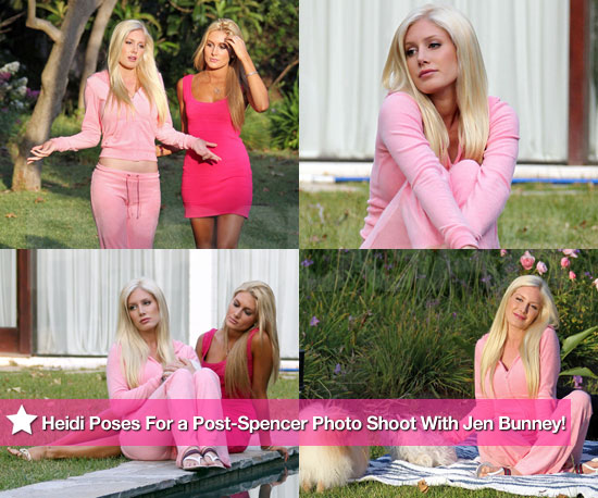 Heidi Montag Poses For a Pensive Post-Spencer Photo Shoot With New Roommate Jennifer Bunney!