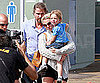 Slide Picture of Britney Spears, Jason Trawick, and Jayden James in Santa Monica