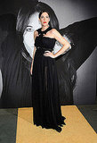Liv Tyler dressed herself up in a Fall '09 Couture gown with a cool, intricate neckline that resembles bat wings.