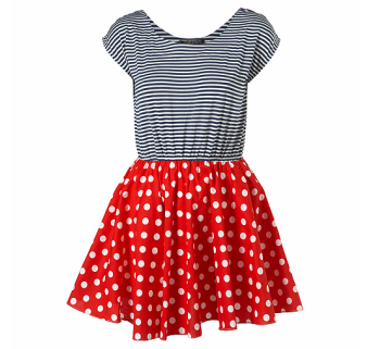 Rare Polka Stripe Dress ($70)