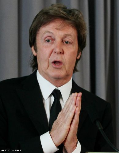 McCartney's long, winding road goes to White House