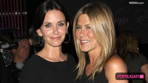 Courteney Cox and Jennifer Aniston at 2010 Crystal and Lucy Awards