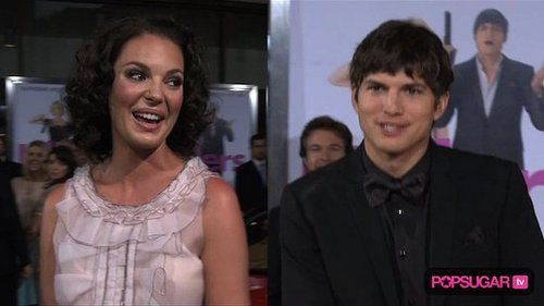 New Video of Ashton Kutcher and Katherine Heigl Movie Premiere