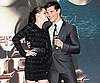 Slide Picture of Kristen Stewart and Taylor Lautner in South Korea for Eclipse