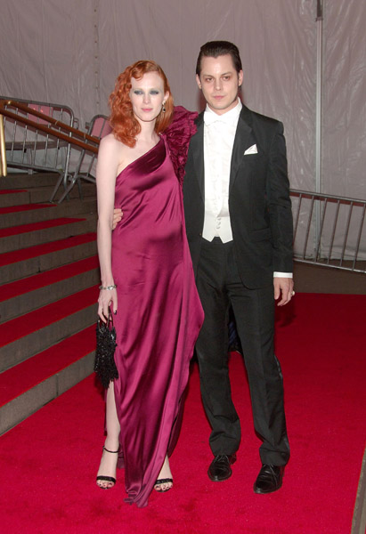 The duo at the 2008 Costume Institute Gala.
