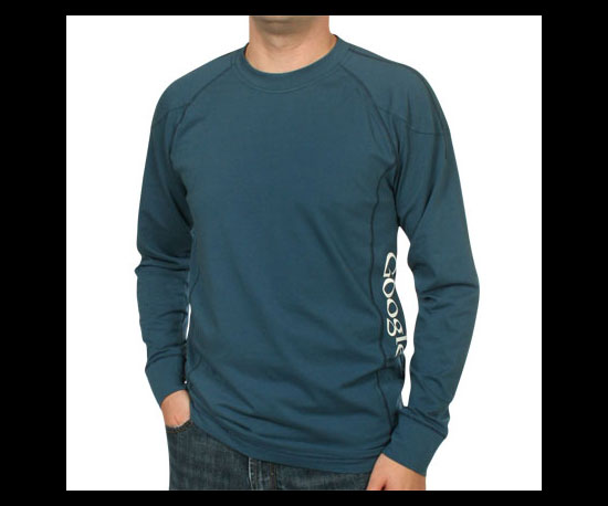 Organic Cotton Long-Sleeve ($35)