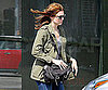 Slide Picture of Mandy Moore Running Errands in LA