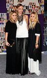 Ashley Olsen, Sasha Pivovarova, Mary-Kate Olsen, all in The Row