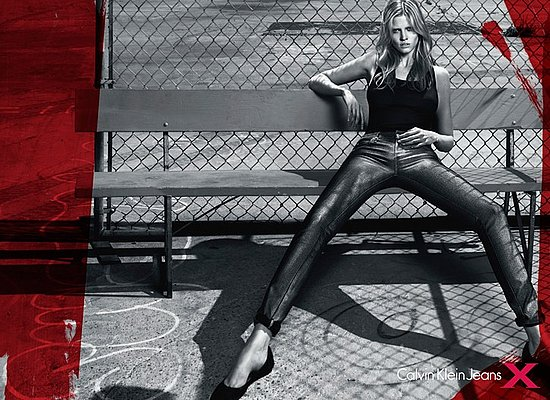 Lara Stone for Calvin Klein Jeans Fall 2010 by Mert Alas and Marcus Piggott