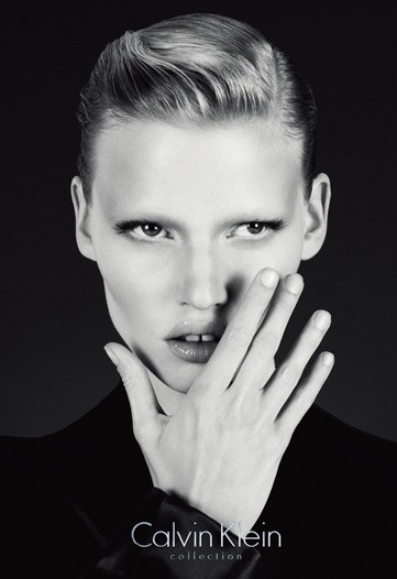 Lara Stone for Calvin Klein Collection Fall 2010 by Mert Alas and Marcus Piggott