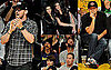 Pictures of Justin Timberlake And Leonardo DiCaprio at a Lakers Game 2010-06-07 09:15:00