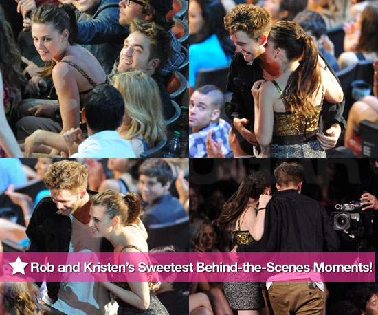 Pictures of Robert Pattinson and Kristen Stewart During MTV Movie Awards 2010-06-07 10:30:00