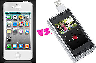 iPhone 4 vs Flip Video Camcorders