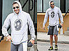 Pictures of Jake Gyllenhaal Leaving Tracy Anderson Studio in LA