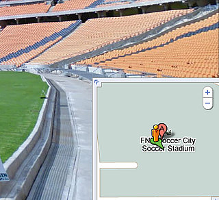 Google Street View at the 2010 World Cup