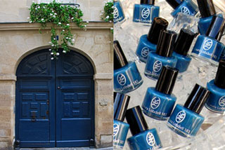 Blue Nail Polish Inspired by Paris