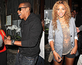 Pictures of Beyonce Knowles And Jay-Z Together in London