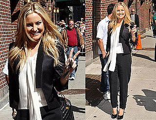 Pictures of Kate Hudson on The Late Show With David Letterman 2010-06-09 11:00:00