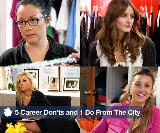 5 Career Don'ts and 1 Do I Learned From Watching The City