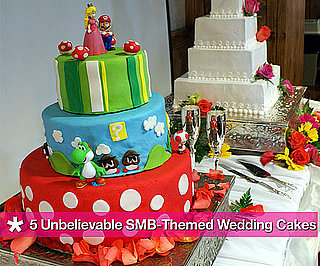 Super Mario Bros. Wedding Cake